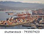 port of vancouver  canada  ... | Shutterstock . vector #793507423
