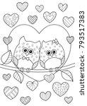vector valentine s day doodle...   Shutterstock .eps vector #793517383