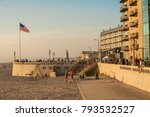 seaside  oregon   7 28 2009  ... | Shutterstock . vector #793532527