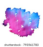 colorful abstract watercolor... | Shutterstock .eps vector #793561783