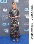 Small photo of LOS ANGELES - JAN 11: Natalia Dyer arrives for the 23rd Annual Critics' Choice Awards on January 11, 2018 in Santa Monica, CA