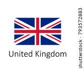 flag of united kingdom with