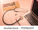computer diagnostics  board... | Shutterstock . vector #793584247