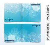 scientific templates square... | Shutterstock .eps vector #793588843