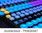 equipment in outside... | Shutterstock . vector #793626367