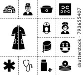 doctor icons. set of 13...   Shutterstock .eps vector #793655407