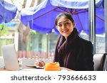 business concept.young asian... | Shutterstock . vector #793666633