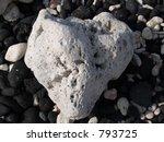 Heart Shaped Rock  Maui