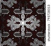 antique dark repeatable... | Shutterstock .eps vector #793728313