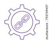 url link setting | Shutterstock .eps vector #793749457