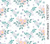 fashionable pattern in small...   Shutterstock . vector #793777297