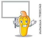 bring board cashew character... | Shutterstock .eps vector #793851463