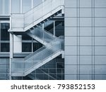 architecture detail glass... | Shutterstock . vector #793852153