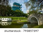 singapore  singapore  ... | Shutterstock . vector #793857397