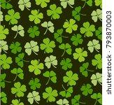 st. patrick's day vector... | Shutterstock .eps vector #793870003