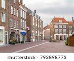 city view of middelburg located ... | Shutterstock . vector #793898773
