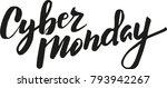 cyber monday vector typography   Shutterstock .eps vector #793942267