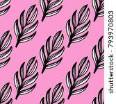 branch seamless pattern print... | Shutterstock .eps vector #793970803