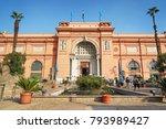 cairo  egypt   november 19 ... | Shutterstock . vector #793989427