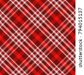 seamless traditional scottish... | Shutterstock .eps vector #794015137