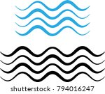 water wave icon  water wave... | Shutterstock .eps vector #794016247