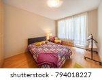 new modern luxury bedroom. new...   Shutterstock . vector #794018227