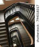 vintage interior staircase   Shutterstock . vector #794018317