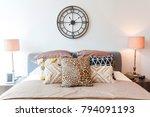 tribal pattern cushion setting...   Shutterstock . vector #794091193
