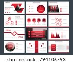 red triangle bundle infographic ... | Shutterstock .eps vector #794106793