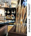 millet in caffe house   Shutterstock . vector #794136607