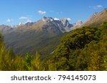 landscape on the routeburn... | Shutterstock . vector #794145073