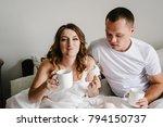 happy family portrait  concept... | Shutterstock . vector #794150737