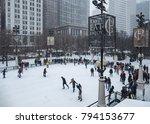 december 29  2017  chicago ... | Shutterstock . vector #794153677
