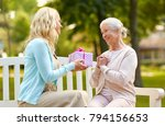 family  holidays and people... | Shutterstock . vector #794156653