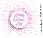 happy valentine s day... | Shutterstock .eps vector #794159293