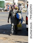 saint louis  senegal   apr 24 ... | Shutterstock . vector #794182093
