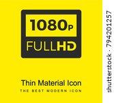 1080p full hd bright yellow...