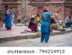 kathmandu  nepal   06 october...   Shutterstock . vector #794214913