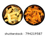 delicious and tasty pasta | Shutterstock . vector #794219587