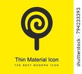 Lollipop Spiral Bright Yellow...