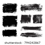 vector grunge banners.grunge... | Shutterstock .eps vector #794242867