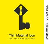 key bright yellow material...