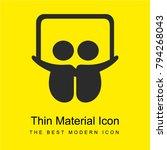 slideshare logo bright yellow...