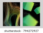 abstract banner template with... | Shutterstock .eps vector #794272927