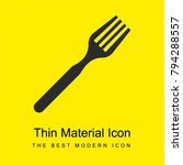 fork in diagonal bright yellow...