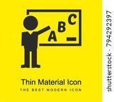 teacher teaching grammar class...   Shutterstock .eps vector #794292397