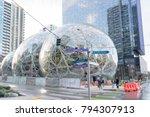 editorial seattle washington... | Shutterstock . vector #794307913