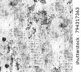 grunge texture black and white. ... | Shutterstock . vector #794317363
