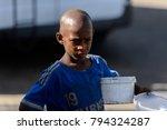saint louis  senegal   apr 24 ... | Shutterstock . vector #794324287