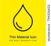 drop bright yellow material...